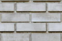 从灰色砖块的墙壁,无缝的纹理 免版税库存照片
