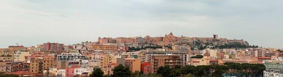 从登上Urpinu的El Castello 免版税库存图片