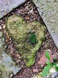 从石头的心脏 免版税库存照片