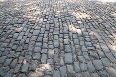 从石头的路 免版税库存图片