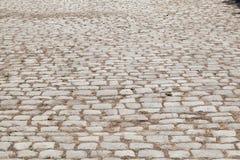 从石头的路 图库摄影