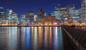 从码头14的旧金山 免版税库存照片
