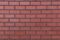 从砖墙纹理的正面图  库存照片