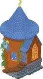 从神仙的尾标的塔-house 免版税库存照片