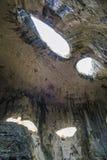 从神眼睛的太阳光芒 图库摄影