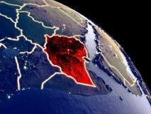 从空间的埃塞俄比亚 向量例证