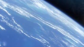 从空间HD的地球 影视素材