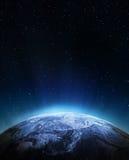 从空间的天气 库存图片