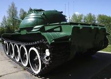 从第二次世界大战的俄国减速火箭的坦克 免版税库存图片