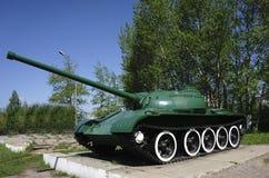 从第二次世界大战的俄国减速火箭的坦克 库存图片
