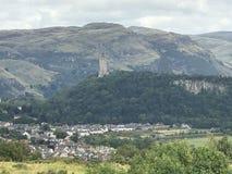 从纯正的城堡的威廉・华莱士 免版税图库摄影