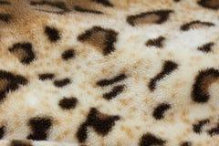 从织品老虎皮肤的背景 免版税库存照片