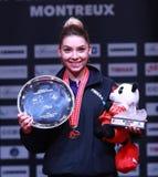从罗马尼亚优胜者的SZOCS贝尔纳黛特名列前茅16 免版税库存图片
