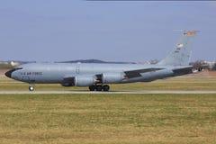 从美国空军的KC-135 免版税库存图片