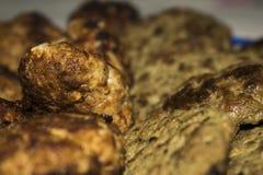 从肉的炸肉排在家 免版税图库摄影