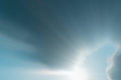 从自然的美好的光在每天日落 库存图片