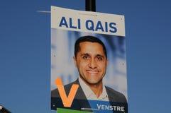 从自由党的阿里QAIS_COUNCIL候选人 免版税库存照片