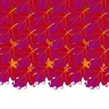 从荚莲属的植物叶子的美好的不尽的边界 豪华秋天设计 皇族释放例证