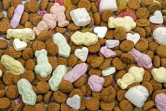从荷兰的传统甜点 免版税库存照片