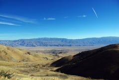 从葱谷路,加利福尼亚的视图 库存图片