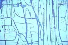 从蓝色的抓痕和的镇压的背景 免版税库存照片
