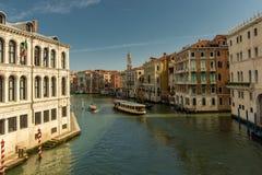 从蓬特威尼斯大石桥的看法 库存照片