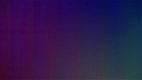 从计算机LED显示器屏幕显示板的LED光图表网站模板的 电或技术构思设计 免版税库存图片