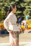 从远东的时装表演 库存照片