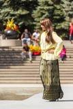 从远东的时装表演 库存图片