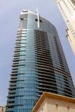 从迪拜,阿拉伯联合酋长国的摩天大楼 库存图片