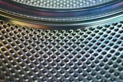 从里面的鼓洗衣机 免版税库存图片
