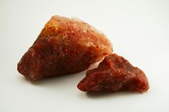 从钾盐采矿的钾盐 免版税库存照片