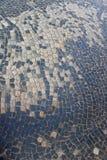 从铺路石的花梢纹理 库存图片