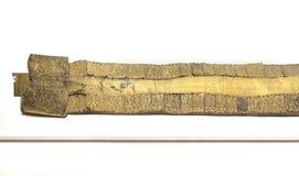 从阿利塞达,卡塞里斯,西班牙tartessos珍宝的金黄传送带  免版税库存照片