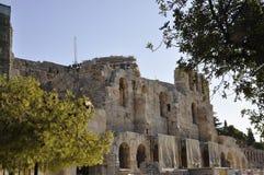 从雅典的上城考古学遗产在希腊 免版税库存照片