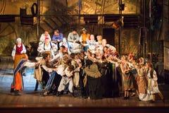 从音乐Vij的戏剧性戏剧的场面 图库摄影