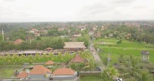 从顶面ubud印度尼西亚的看法 股票录像