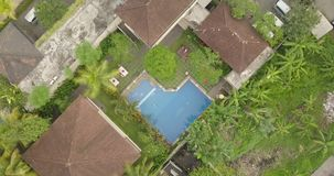 从顶面ubud印度尼西亚的看法 股票视频