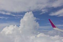 从飞机的视图 免版税库存照片