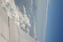 从飞机的视图 库存图片