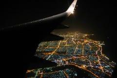 从飞机-埃及的看法 图库摄影