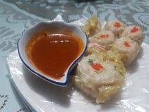 从香港的好吃:粤式点心 免版税库存照片