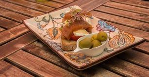 从马略卡的传统食物 库存图片