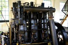 从1930年的老柴油引擎 库存图片