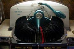 从50s的自动电唱机 库存图片