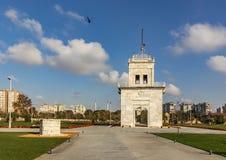 从baruthane公园的全视图ataköy的 库存照片