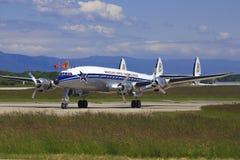 从Breitling的DC-6达可它 免版税库存照片
