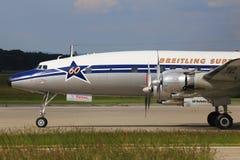 从Breitling的DC-6达可它 免版税图库摄影