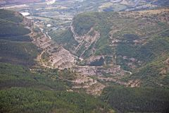 从Chabre的法国阿尔卑斯 免版税库存照片