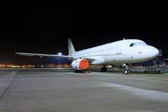 从Dc航空的空中客车A320 免版税库存图片